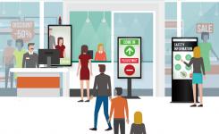 """Προχωρήστε στην """"νέα κανονικότητα"""" με την  χρήση των smart digital signage στο καινούργιο περιβάλλον της λιανικής από την Digimark"""